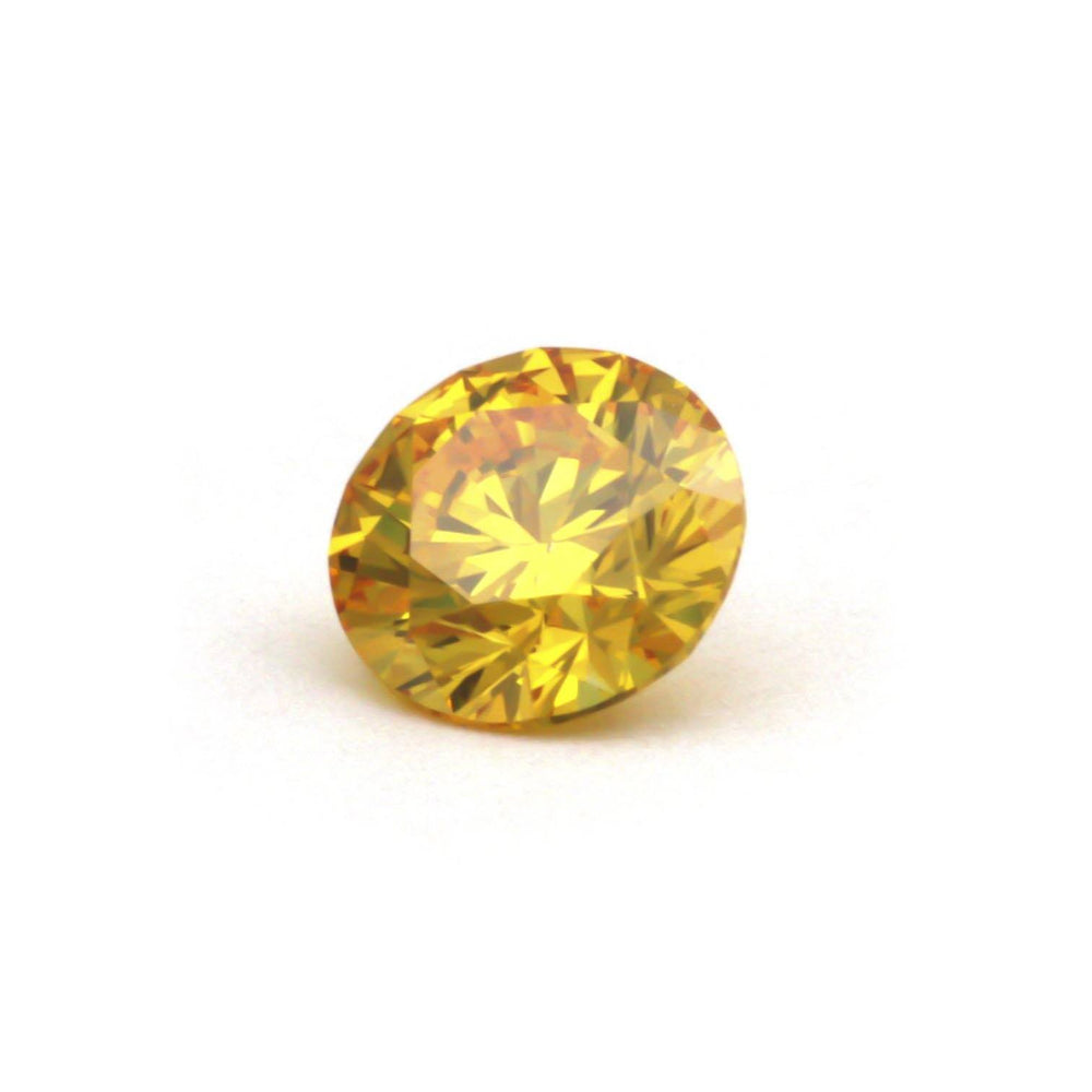 Man Made Diamonds That Are Economical For Rings, #900039804 Round, 0.62 Ct, Canary Yellow Color, Si1 Clarity Loose Lab Grown Diamond Renaissance Diamonds