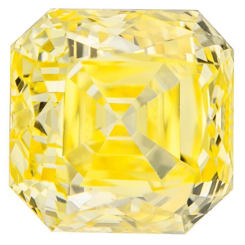 Real Diamond Vs Fake For Engagement Rings In Affordable Cost, #900021241 Cushion, 1.55 Ct, Canary Yellow Color, Vvs2 Clarity Loose Lab Grown Diamond Renaissance Diamonds