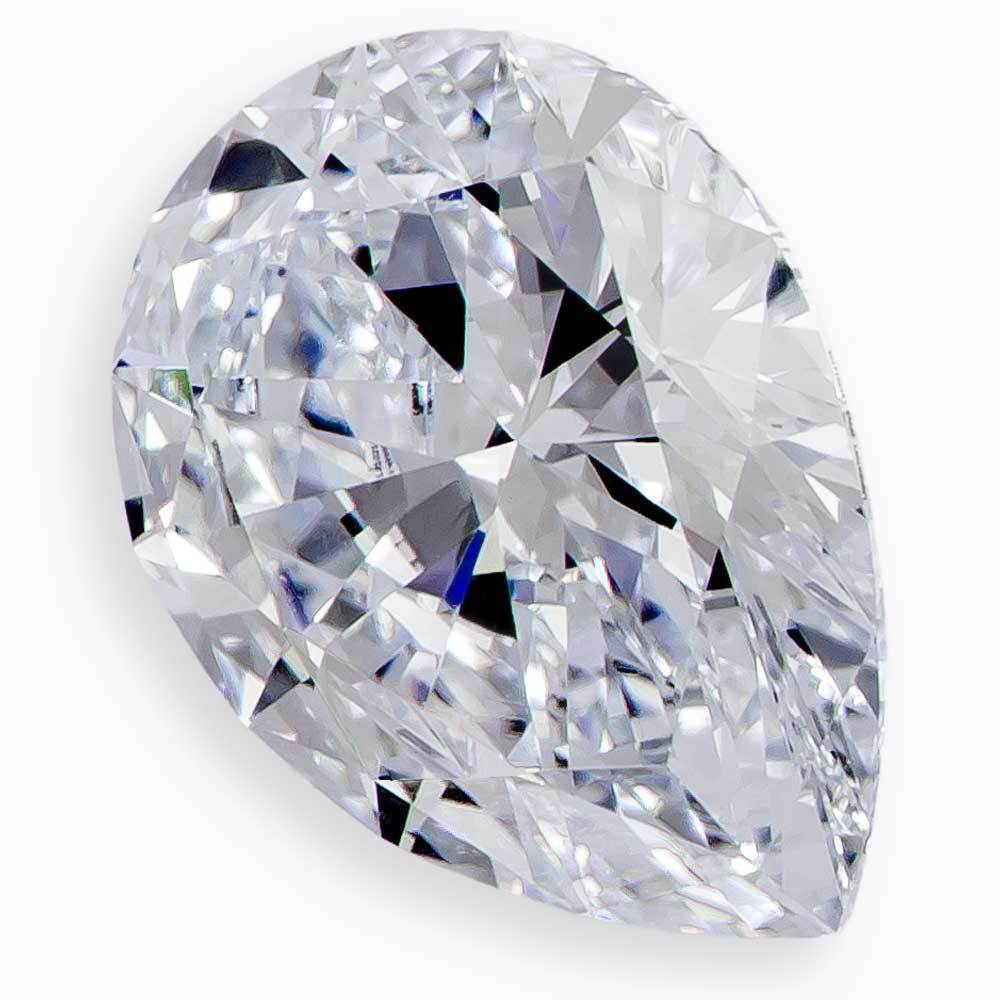 Select Real Diamond Vs Fake For Affordable Wedding Rings #971101960 Pear 1.07 Ct H Color Si1 Clarity Loose Lab Grown Diamond Renaissance Diamonds