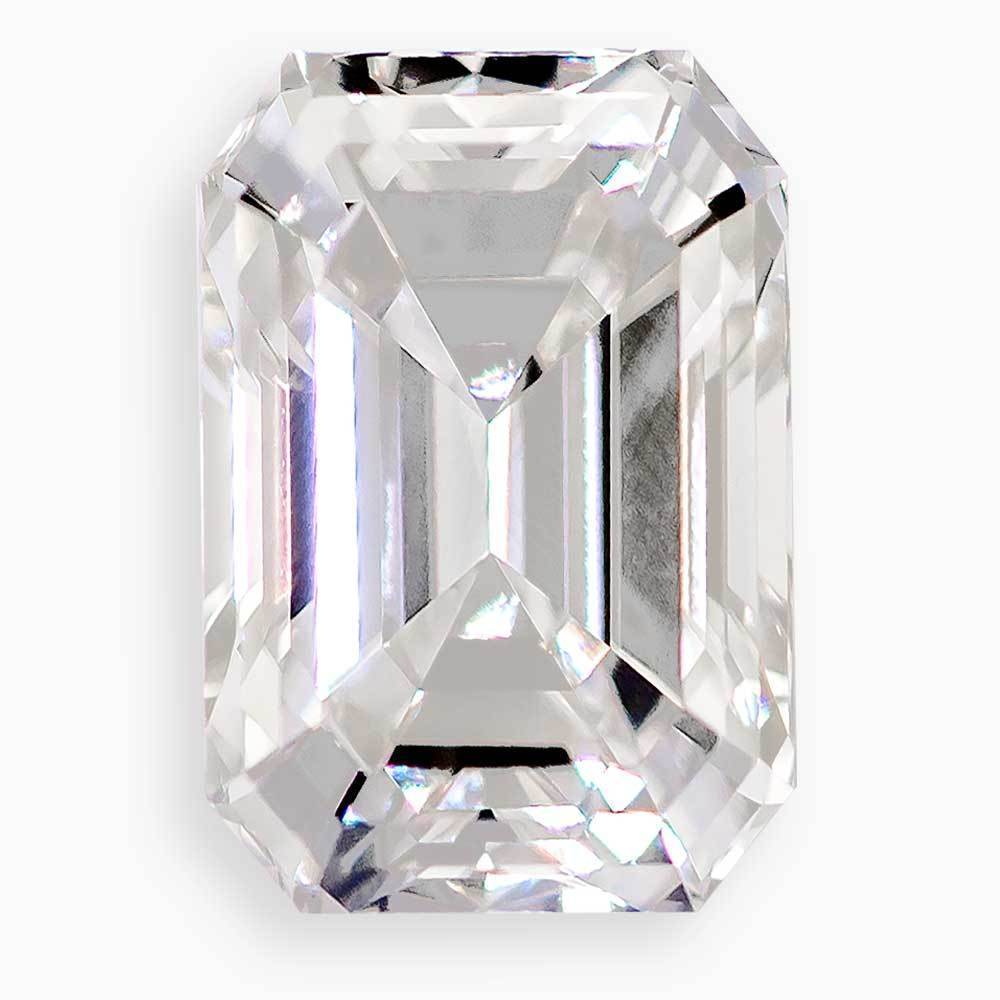 Select Synthetic Diamonds That Are For Beautiful Engagement Rings #971101805 Emerald Cut 2.54 Ct H Color Si1 Clarity Loose Lab Grown Diamond Renaissance Diamonds