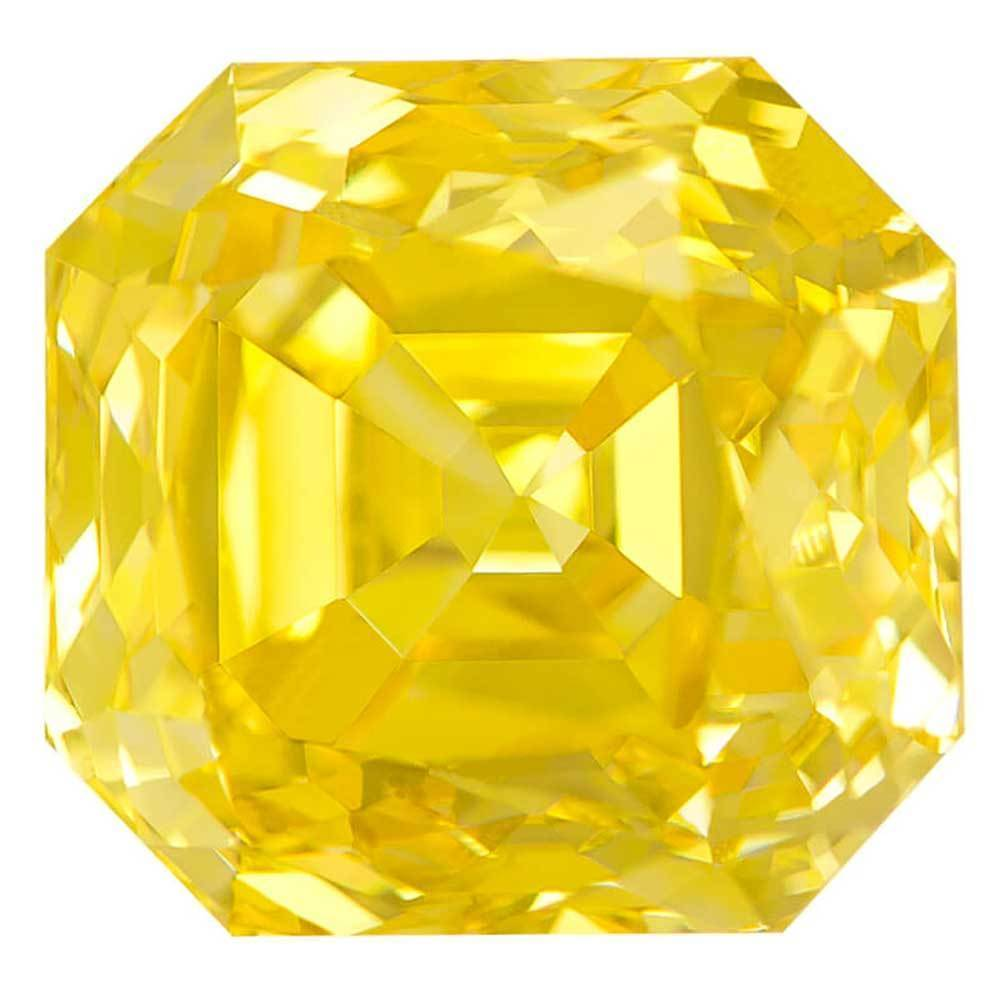 Synthetic Diamonds Best For Wedding Rings In Low Price, #900026760 Renaissance Cut, 1.40 Ct, Canary Yellow Color, Vs2 Clarity Loose Lab Grown Diamond Renaissance Diamonds