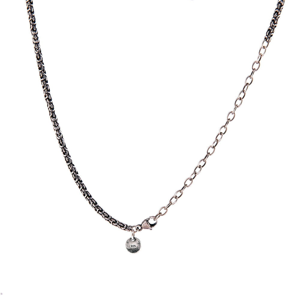 Yin~Yang Necklace With Diamonds & White Gold Pendant InHarmony
