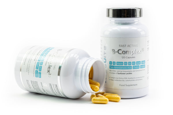 Fast Acting B-Complex25 2 bottles with capsules
