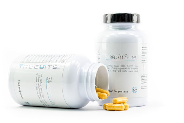 Sleep'n'Sure two bottles with capsules