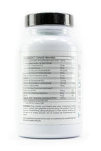 Load image into Gallery viewer, Truevits.uk B-Complex-25 vitamin bottle back view