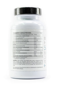 Truevits.uk B-Complex-25 vitamin bottle back view