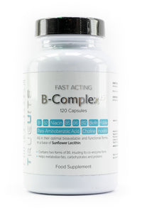 Truevits.uk B-Complex-25 vitamin bottle front view