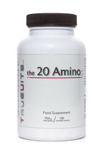 Load image into Gallery viewer, Truevits.uk the 20 Aminos bottle 120 capsules front