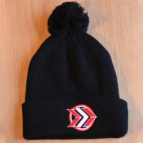 Black/Navy/Red Stocking Cap