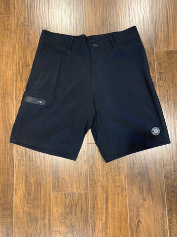 Black Hybrid/Golf Short