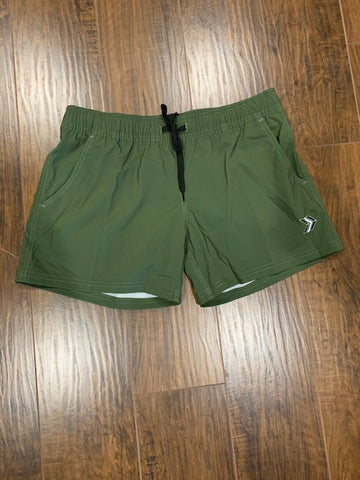 Women's Green Shorts