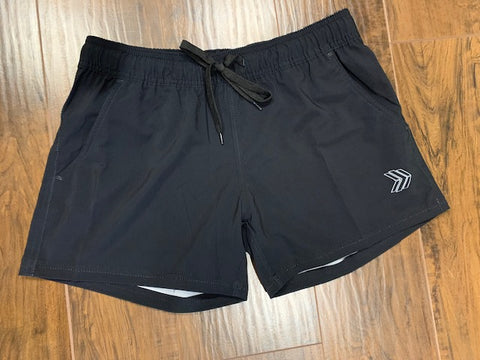 Women's Black Shorts (2 Pockets)