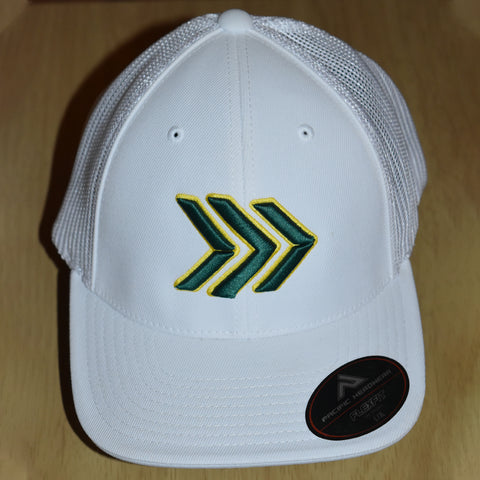 White/Green/Yellow Hat