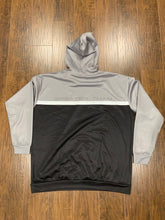 Load image into Gallery viewer, Black/Gray Fleece Hoodie