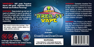 [Buy High Quality Vape E-juices Online] - Area 51 Vape