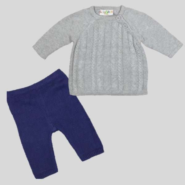Knitted Jumper & Leggings Set