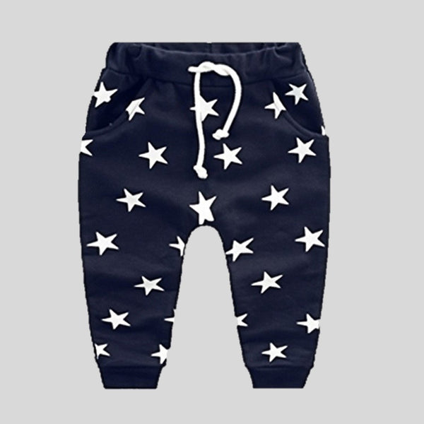 Navy Blue Star Joggers