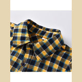 Yellow Check Shirt