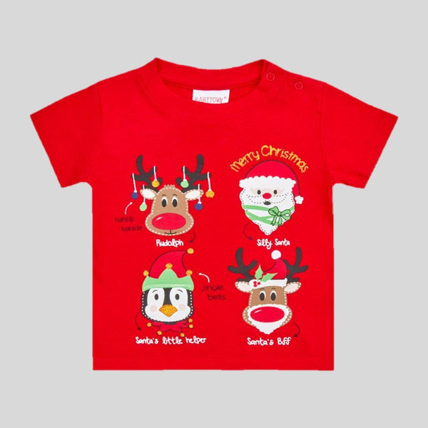 Toddlers Christmas Characters T-Shirt