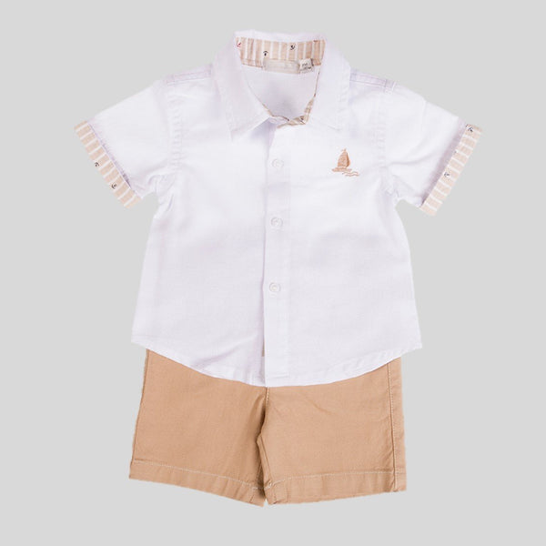 Nautical Shorts & Shirt Set