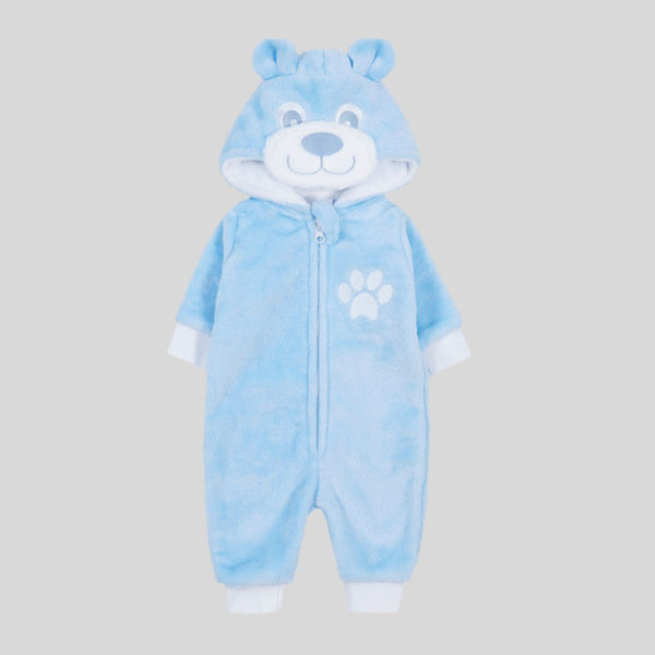 Blue Teddy Bear Onesie