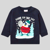 Toddlers 'Have An Ice Day' Christmas Jumper