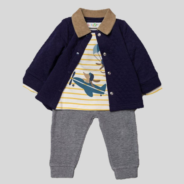 'Flying' Trousers, T-shirt & Jacket Set