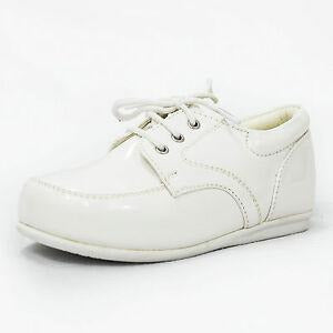 Boys Early Steps Royal Shoes In White