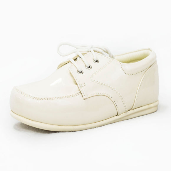 Boys Early Steps Royal Shoes In Ivory