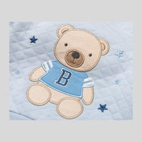 'Bear' Quilted Trousers & Jumper Set