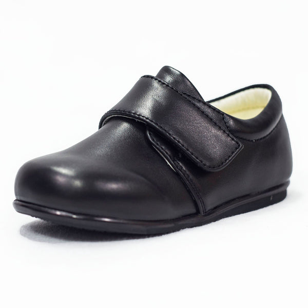 Boys Early Steps Princes Shoes In Matte Black