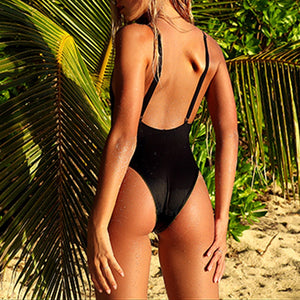 Women Sexy Bikini One-Piece Swimwear