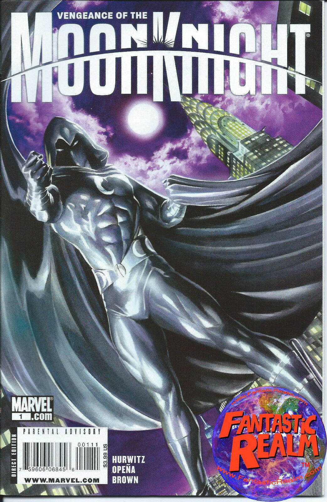 VENGEANCE OF MOON KNIGHT ISSUE #1 ALEX ROSS VARIANT 1ST PRINT MARVEL COMICS