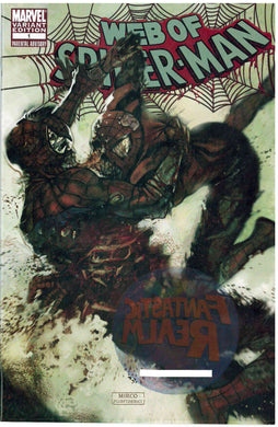 WEB OF SPIDERMAN #1 ZOMBIE VARIANT MARVEL COMICS