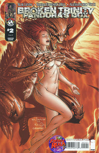BROKEN TRINITY #2 PANDORA'S BOX EBAS VARIANT CONVENTION EXCLUSIVE IMAGE COMIC