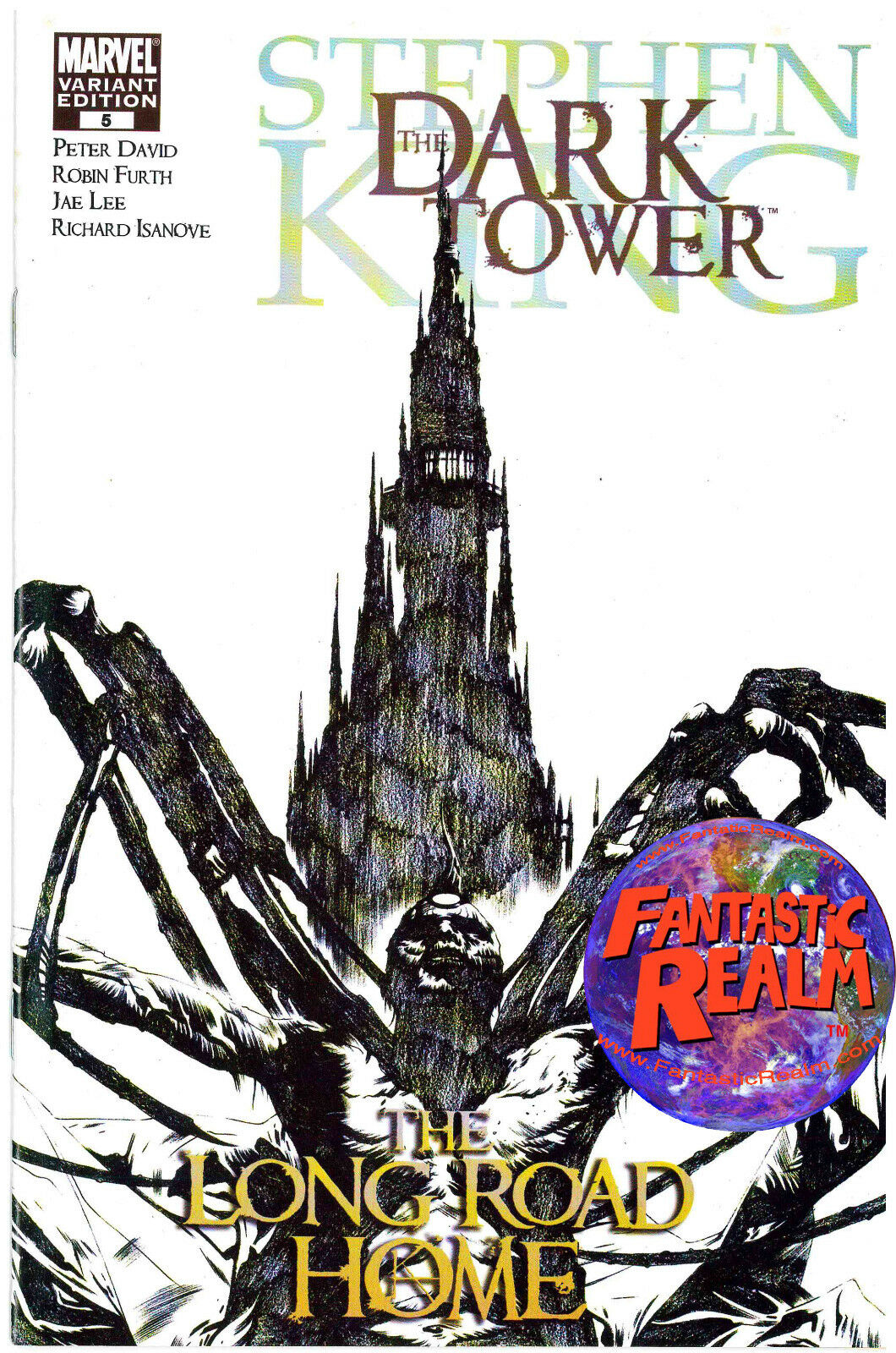 STEPHEN KING DARK TOWER THE LONG ROAD HOME #5 JAE LEE 1:75 SKETCH COVER VARIANT