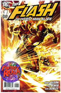 THE FLASH: THE FASTEST MAN ALIVE #1, 2, 3, 4, 5, 6, 11, 11 variant, 12 &13 DC