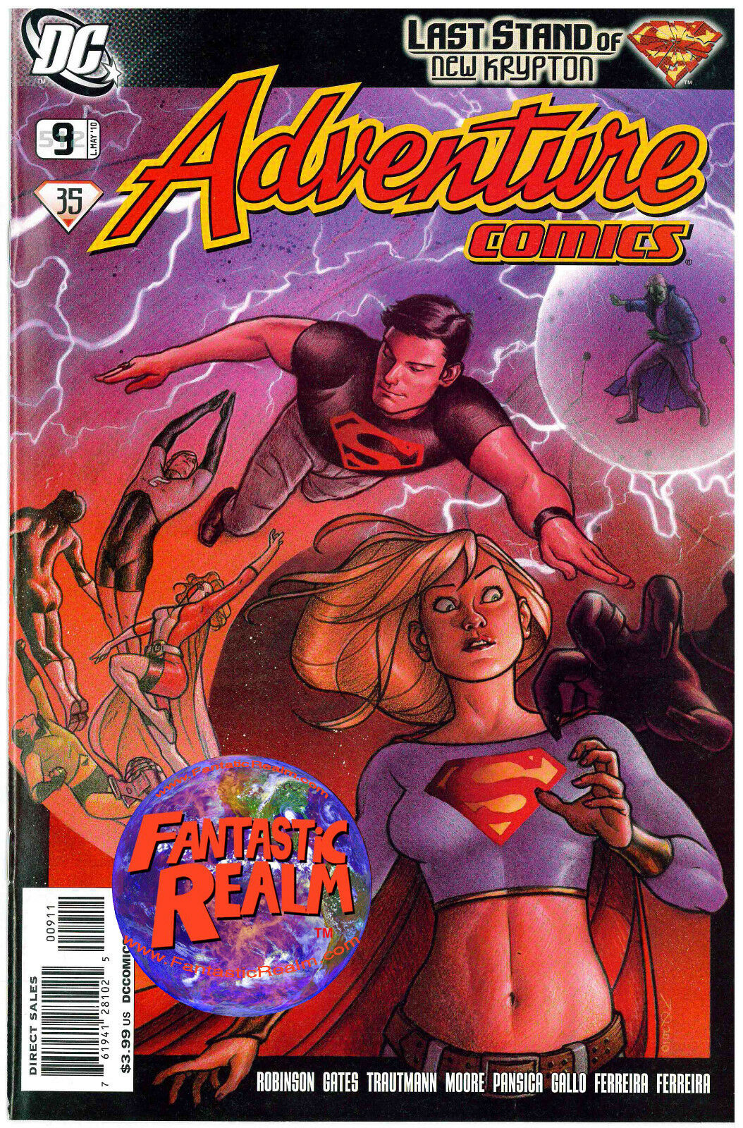 ADVENTURE COMICS #512 (LAST STAND OF NEW KRYPTON) DC COMICS