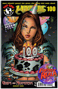 WITCHBLADE 100, 101 & 103 IMAGE TOP COW COMICS