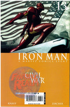 Load image into Gallery viewer, IRON MAN: CIVIL WAR #13 & 14 (2006-2007) MARVEL COMICS