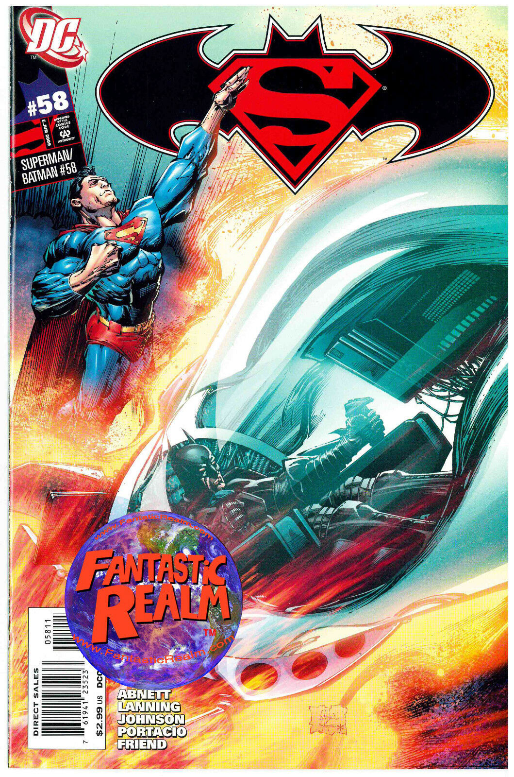 SUPERMAN BATMAN #58 DC COMICS