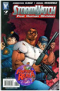 STORM WATCH POST HUMAN DIVISION (PHD) #6 & 7 WILDSTORM COMICS