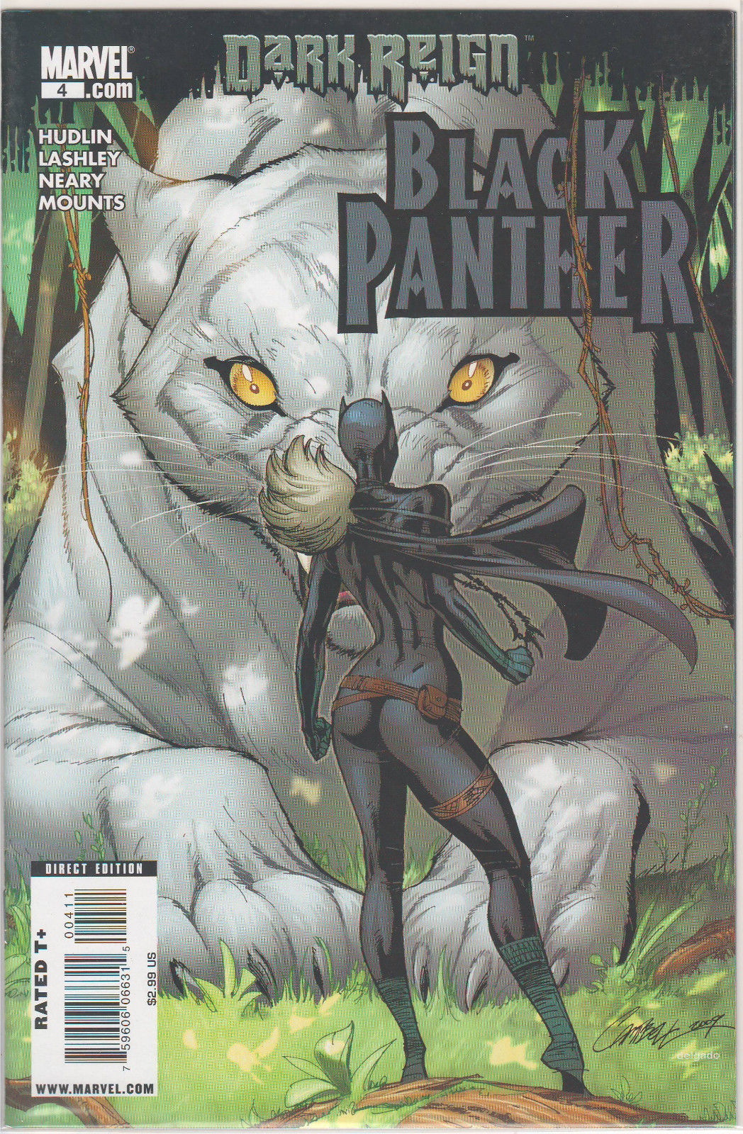 Dark Reign: Black Panther #4 - J. Scott Campbell Marvel COMICS