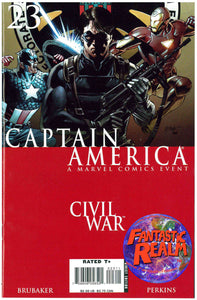 CAPTAIN AMERICA #22, 23 & 24 CIVIL WAR EVENT MARVEL COMICS