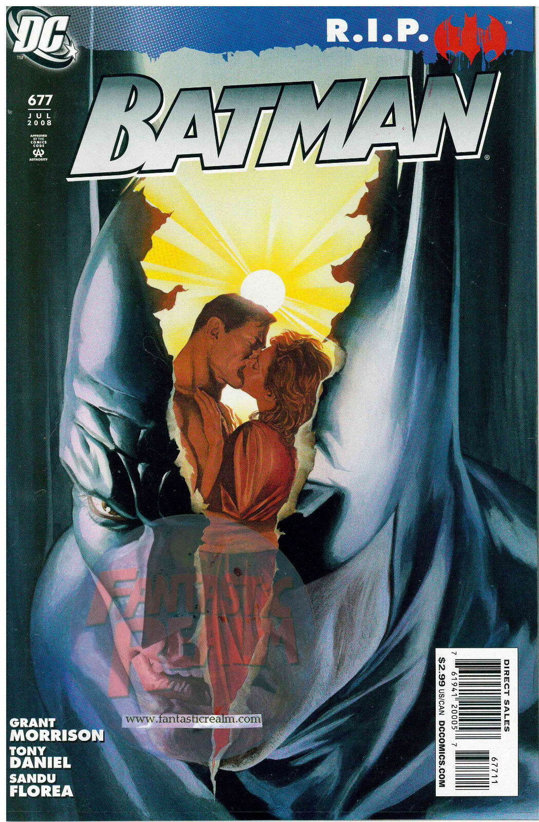 Batman #677 R.I.P. (2008) DC Comics