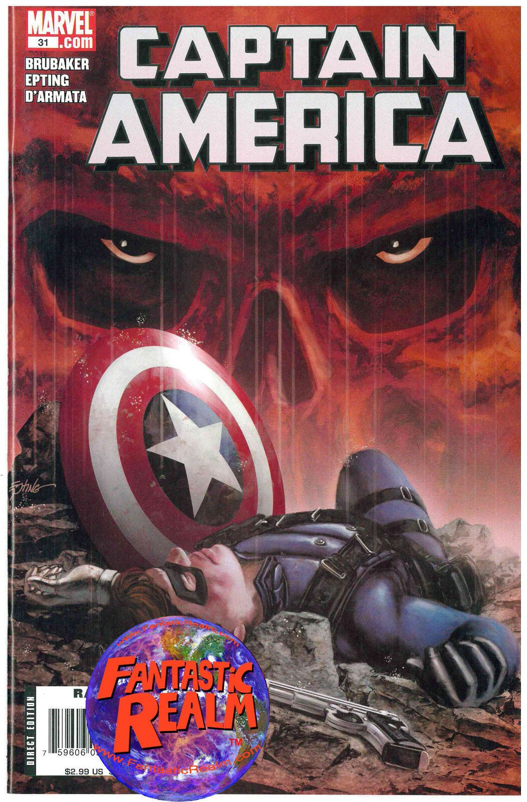 CAPTAIN AMERICA #31 WINTER SOLDIER (2004) MARVEL COMICS