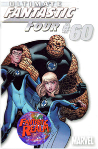 ULTIMATE FANTASTIC FOUR #60 WHITE McGUINESS VARIANT 1:1OO MARVEL COMICS
