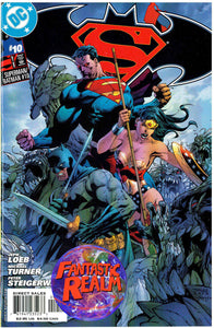 SUPERMAN BATMAN #10 JIM LEE VARIANT COVER DC COMICS