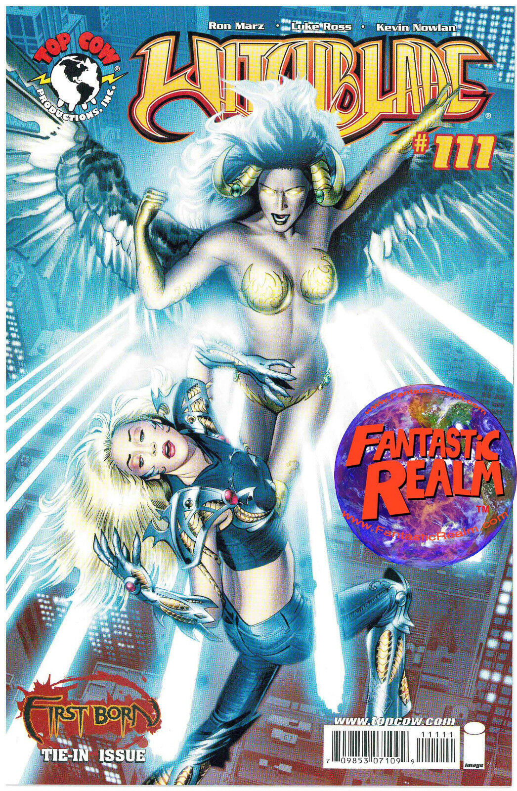 WITCHBLADE #111 FIRST BORN TIE-IN RON MARZ IMAGE TOP COW COMICS