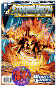STORMWATCH POST HUMAN DIVISION (PHD) #1, 1B & 2 WILDSTORM COMICS